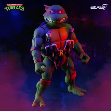 Super7 TMNT Ultimates Raphael Action Figure (Teenage Mutant Ninja Turtles)